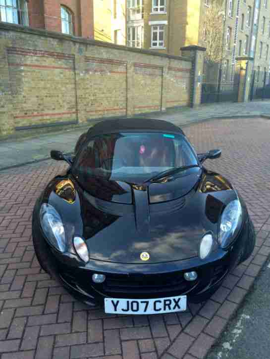 2007 LOTUS ELISE S TOUR BLACK