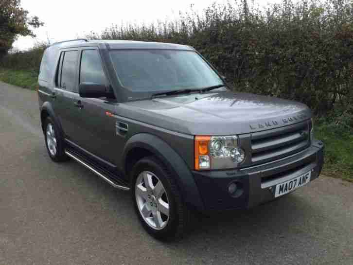 2007 land rover discovery 2 7td hse 5dr car for sale. Black Bedroom Furniture Sets. Home Design Ideas