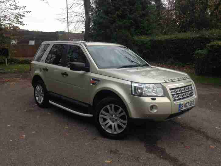 2007 Land Rover Freelander 2 TD4 Top Spec HSE