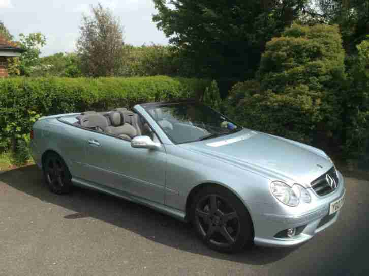 2007 MERCEDES BENZ 280 CLK Convertible 3.0 7G Tronic Sport MOT until 21/05/2017