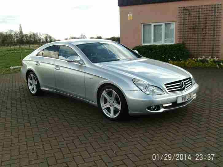 MERCEDES BENZ CLS 320 CDI AUTOMATIC FULLY LOADED SAT NAV HEATED LEATHER ETC