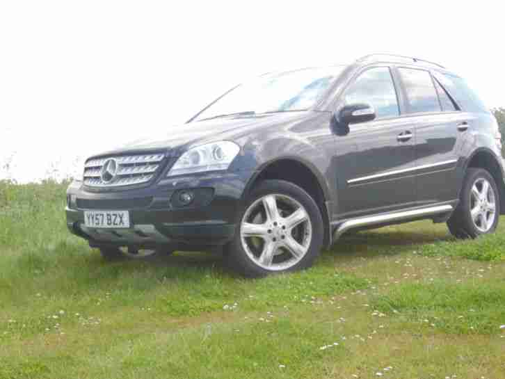 2007 mercedes ml 280 cdi sport auto black car for sale. Black Bedroom Furniture Sets. Home Design Ideas
