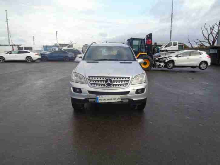 2007 MERCEDES ML 280 SPORT 3.0 DIESEL 7 SPEED