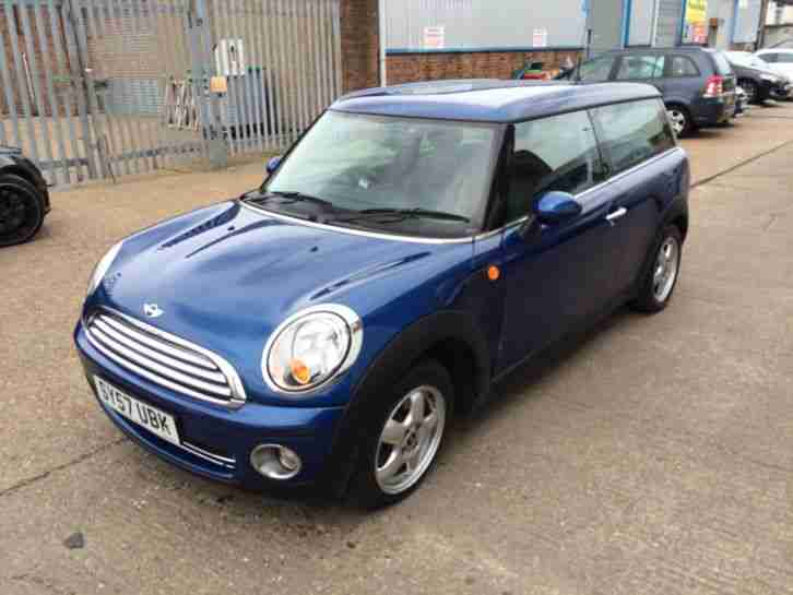 2007 MINI COOPER AUTO 1.6 CLUBMAN LIGHT COSMETIC DAMAGED SALVAGE REPAIRABLE