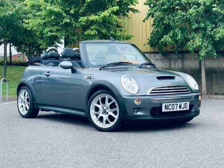 2007 MINI Convertible 1.6 Cooper S 2dr