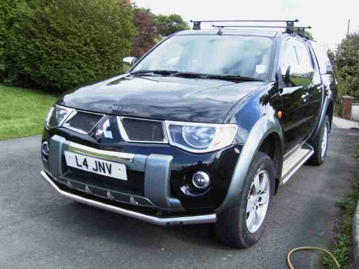 2007 MITSUBISHI L200 ANIMAL 165BHP AUTO NO VAT FSH 2 KEYS