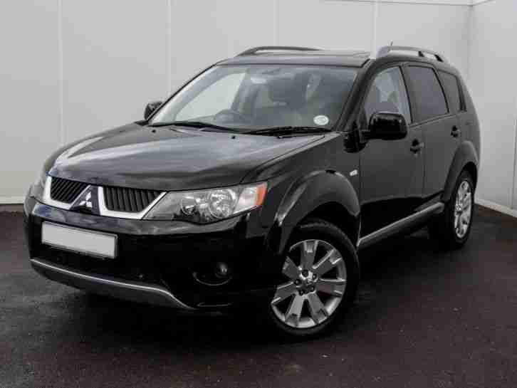 Mitsubishi OUTLANDER ELEGANCE DI D 4X4 SAT NAV LEATHER SUNROOF 7 SEAT