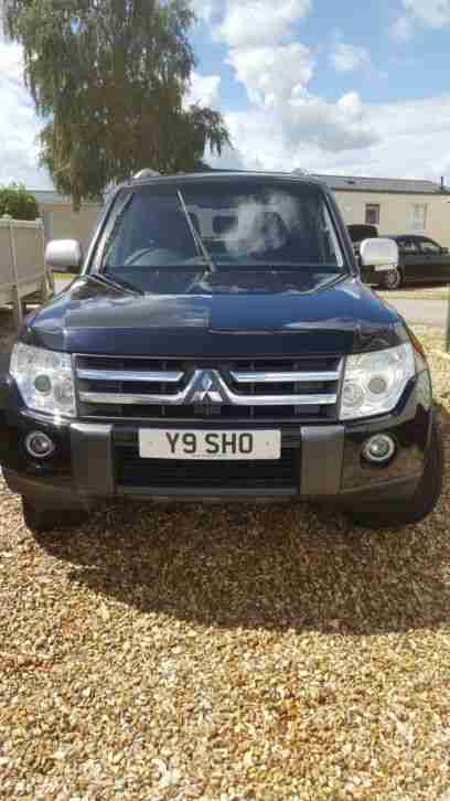 Mitsubishi SHOGUN. Mitsubishi car from United Kingdom