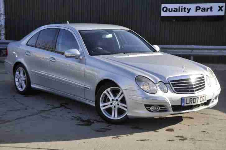 Mercedes Benz 2007. Mercedes-Benz car from United Kingdom