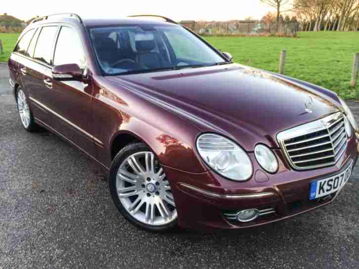 2007 mercedes e320 cdi diesel sport estate 7 seat fmbsh. Black Bedroom Furniture Sets. Home Design Ideas