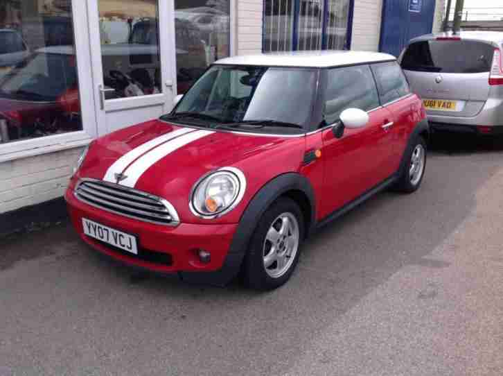 2007 Mini Hatchback 1.6 Cooper 3dr 3 door Hatchback