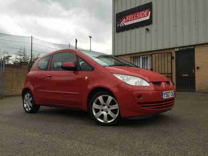 2007 Mitsubishi Colt CZ3 red 1.5 petrol 3dr, not accident damaged spares repairs