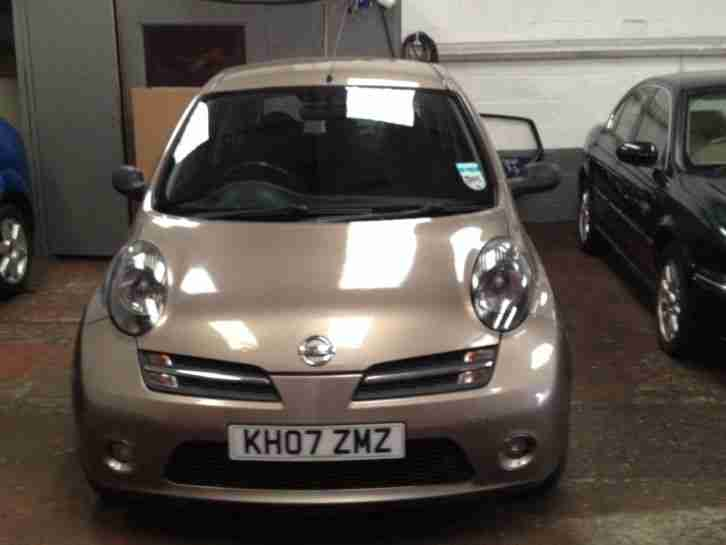 nissan 2007 micra initia dci beige diesel low miles spares. Black Bedroom Furniture Sets. Home Design Ideas