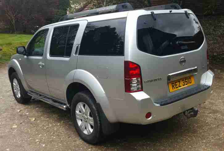 Nissan PATHFINDER DCI AUTO SPORT 7 SEATER TOW BAR LOW MILES NO RESERVE