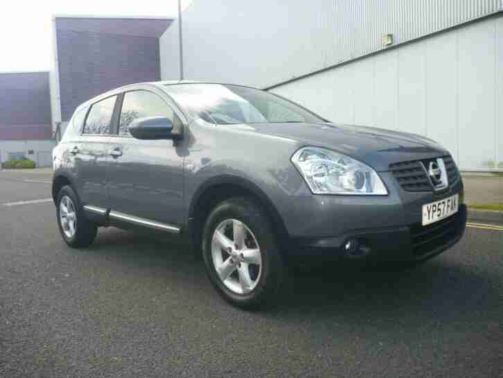 2007 NISSAN QASHQAI 1.5 dCi Acenta 5dr full service history
