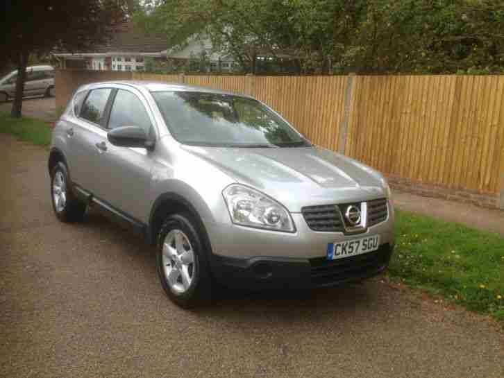 nissan 2007 qashqai visia 2wd silver car for sale. Black Bedroom Furniture Sets. Home Design Ideas