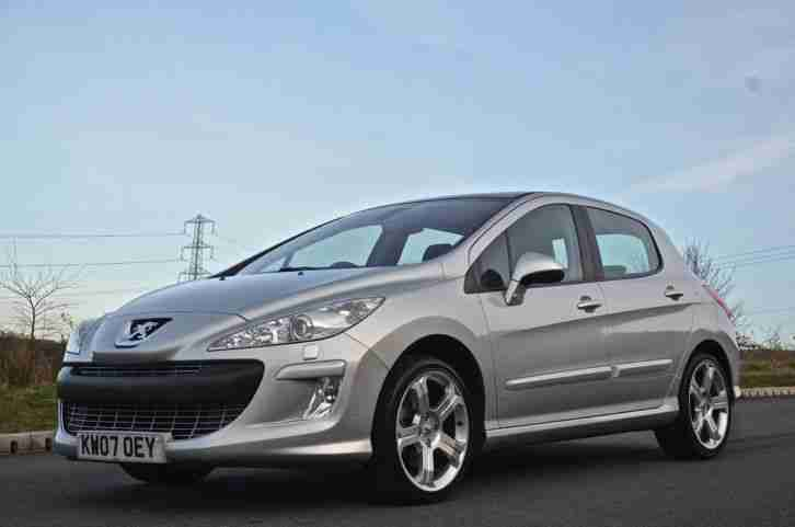 peugeot 2007 308 gt hdi hatchback diesel car for sale. Black Bedroom Furniture Sets. Home Design Ideas