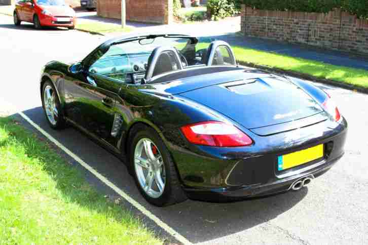 porsche 2007 boxster s black car for sale. Black Bedroom Furniture Sets. Home Design Ideas