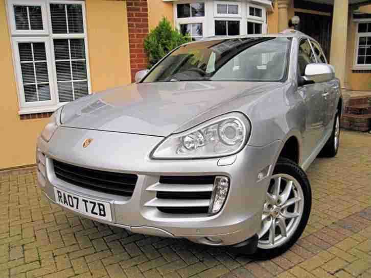 2007 PORSCHE CAYENNE 4.8 S TIPTRONIC NEW SHAPE 385BHP 92K MILES LOVELY CONDITION