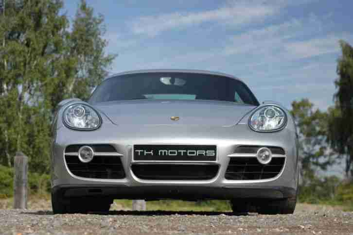 2007 PORSCHE CAYMAN 2.7 S TIPTRONIC LOW MILEAGE