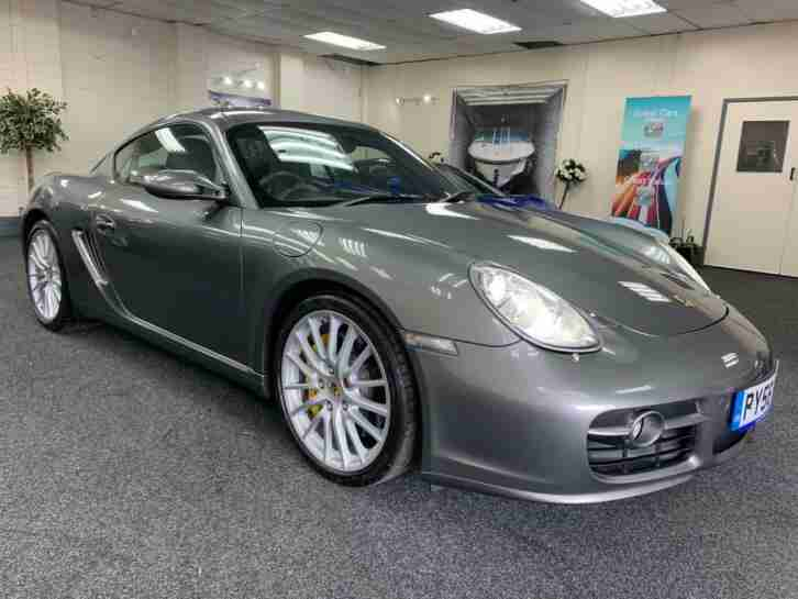 Porsche CAYMAN. Porsche car from United Kingdom