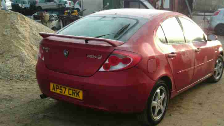 2007 PROTON GEN-2 GSX RED FAMILY CAR VERY LOW MILES 1.6 PETROL ONLY 28 K 1 OWNER