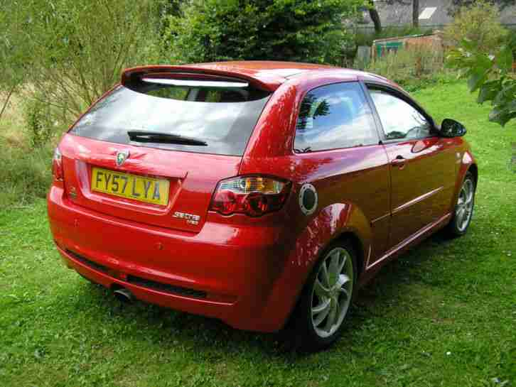 2007 PROTON SATRIA NEO GSX RED LADY OWNER LONG MOT