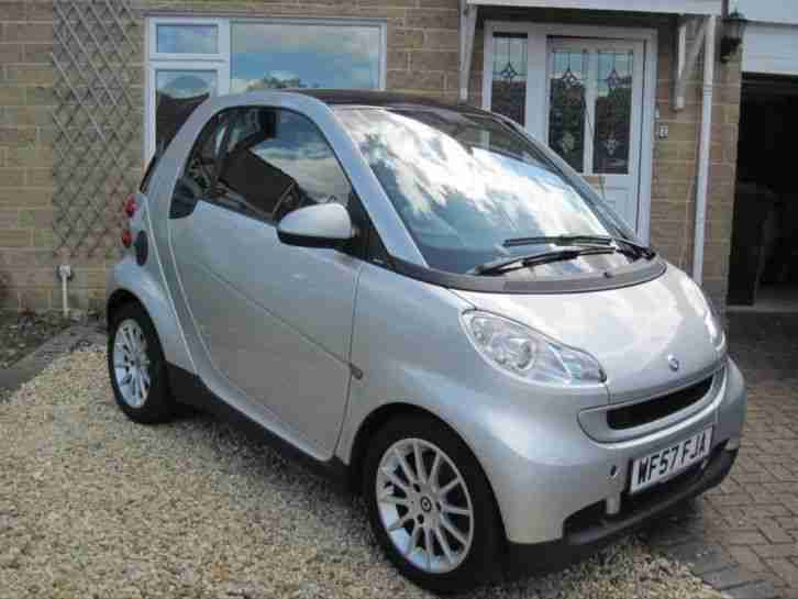 smart 2007 passion fortwo auto 1tr engine 12months mot full service. Black Bedroom Furniture Sets. Home Design Ideas