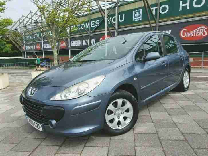Peugeot 207. Peugeot car from United Kingdom