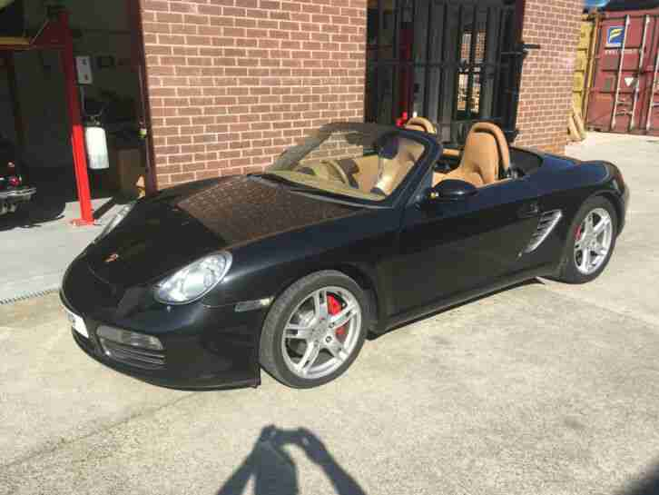 2007 Boxster 3.2 987 S Convertible