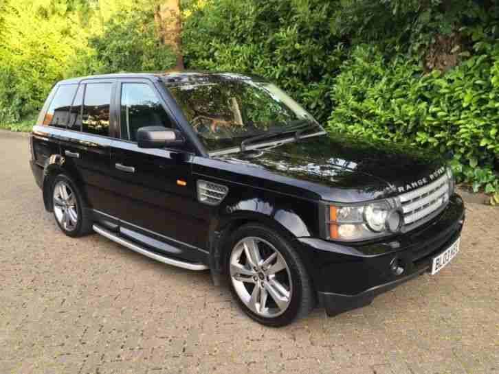 2007 range rover sport hse 4 2 supercharger black car for sale. Black Bedroom Furniture Sets. Home Design Ideas