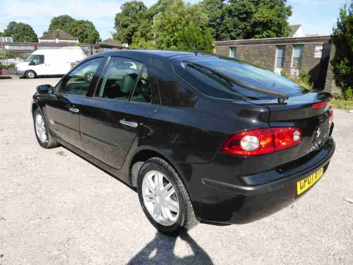 renault 2007 laguna initiale dci 150 black diesel 2 0 workhorse car for sale. Black Bedroom Furniture Sets. Home Design Ideas