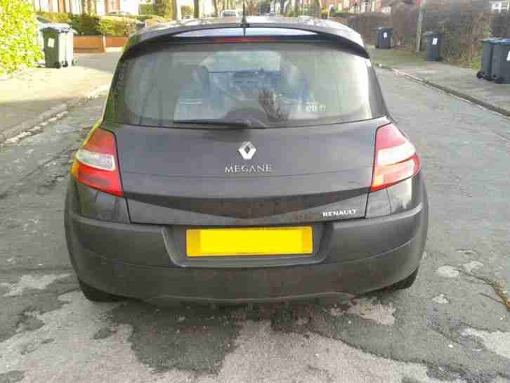*2007 Renault Megane Extreme 1.5 Diesel Black 3Dr Recently Taxed & M.O.T*