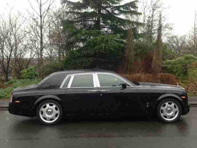 2007 Rolls-Royce Phantom 6.7 auto frrsh warranty service pack