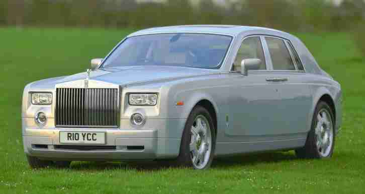 2007 Rolls Royce Phantom Silver Ghost Centenary Edition