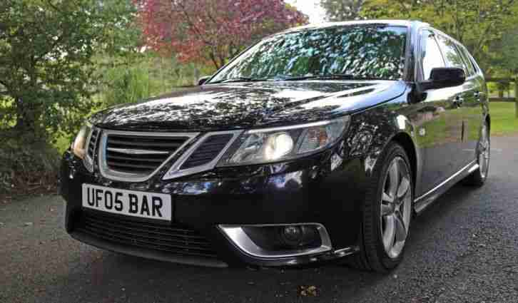 2007 SAAB 9 3 AERO 2.8 V6 S A TURBO 6 SPEED TIPTRONIC AUTO PETROL 250BHP ESTATE