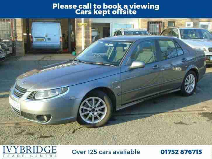 Saab 9. Saab car from United Kingdom