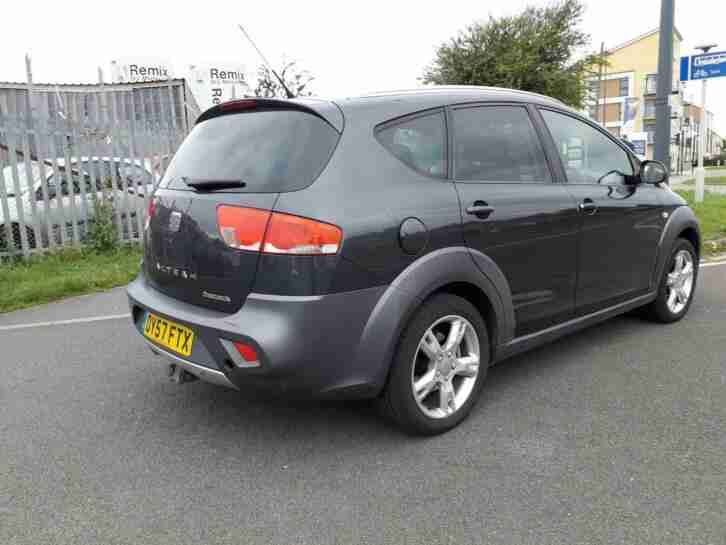 2007 SEAT ALTEA 2.0TDI ESTATE FREETRACK 4WD ( NOW £2195 ono )