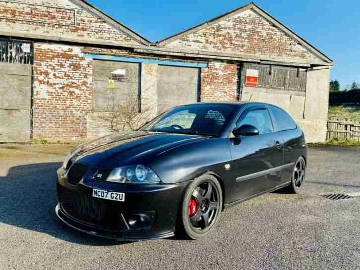 2007 SEAT IBIZA CUPRA TDI PD160 HIGHLY MODIFIED 200BHP NO RESERVE LEON