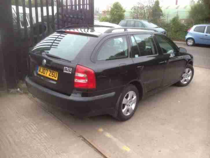 2007 OCTAVIA AM NTE TDI PD DSG BLACK