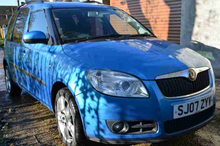 2007 ROOMSTER 3 1.4 TDI 80 BLUE