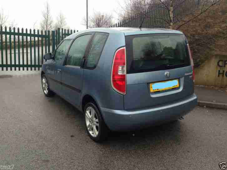 2007 SKODA ROOMSTER 3 1.9 TDI 105 PANORAMIC ROOF EXCELLENT IN/OUT no swap px