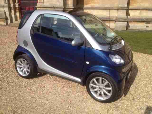 2007 SMART CITY PASSION 61 AUTO/MANUAL SILVER