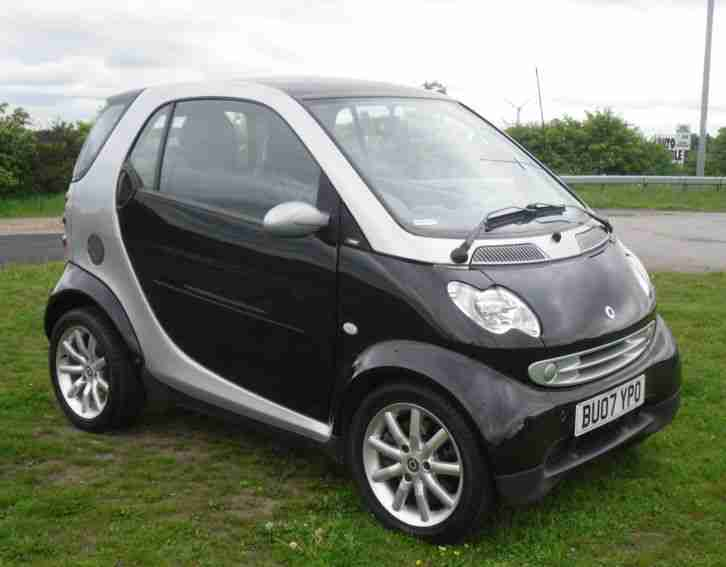smart 2007 fortwo city passion 61 auto soft tip car for sale. Black Bedroom Furniture Sets. Home Design Ideas