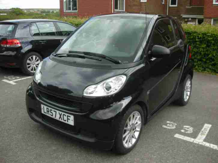 smart 2007 fortwo passion 71 auto black car for sale. Black Bedroom Furniture Sets. Home Design Ideas