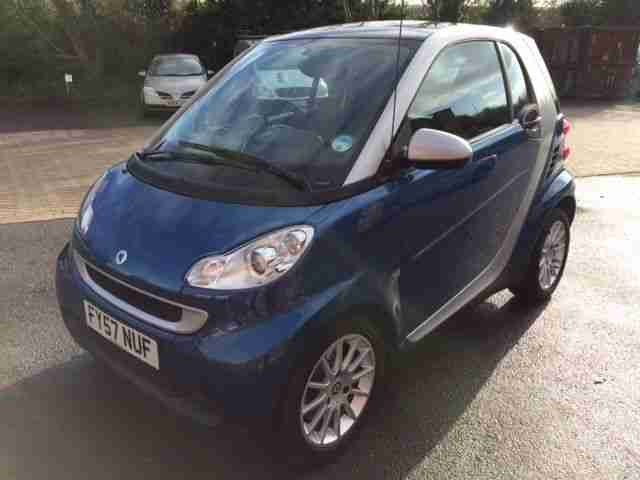 smart 2007 fortwo passion 71 auto blue car for sale. Black Bedroom Furniture Sets. Home Design Ideas