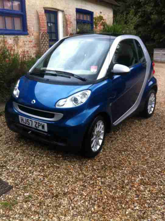 2007 FORTWO PASSION 84 AUTO BLUE