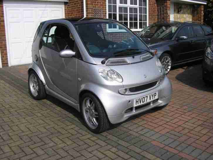 (2007) SMART FOURTWO BARBUS 698cc COUPE MET SILVER (GREY LEATHER TRIM)