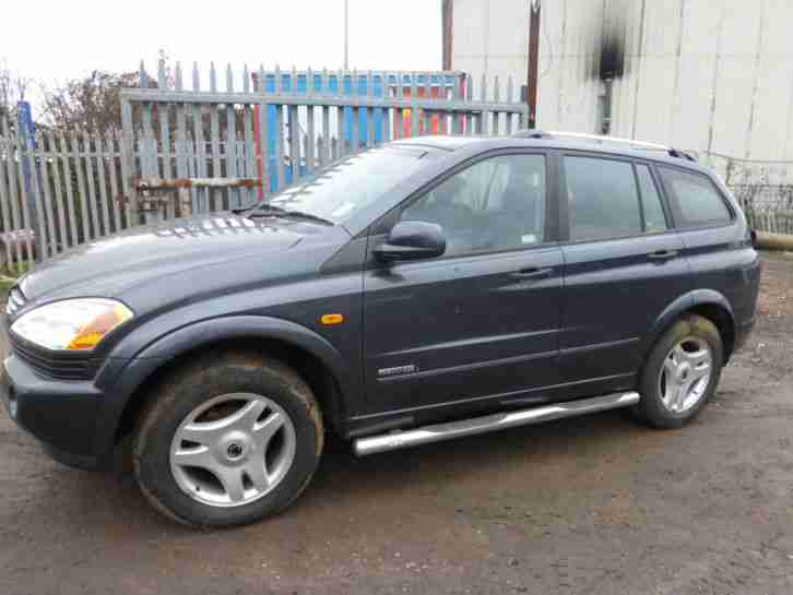 2007 SSANGYONG KYRON spares or repair