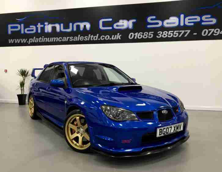2007 IMPREZA WRX STI TYPE UK WIDETRACK